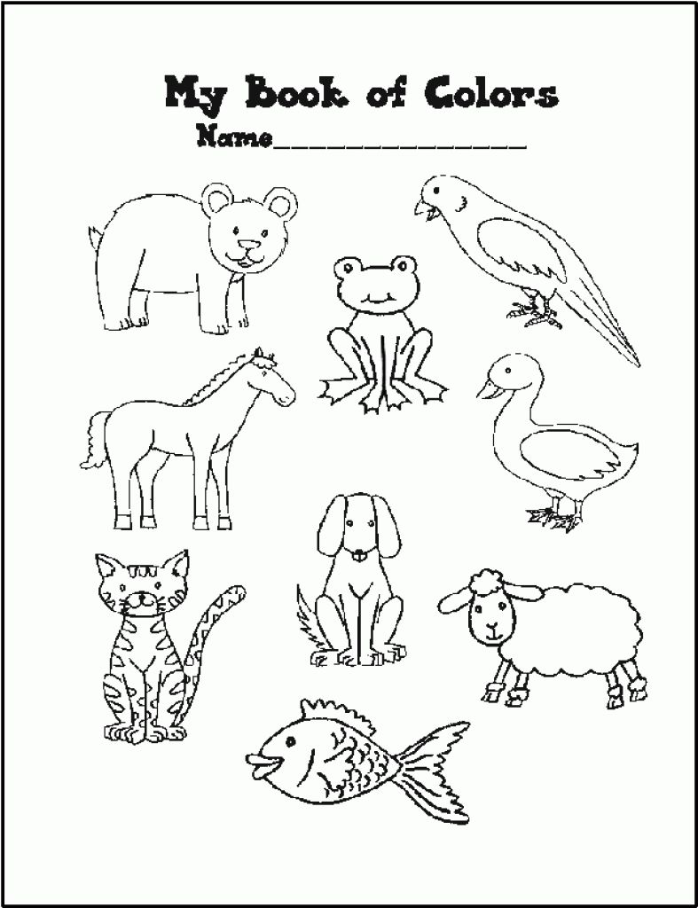 Brown Bear What Do You See Coloring Pages Home In Reciclar