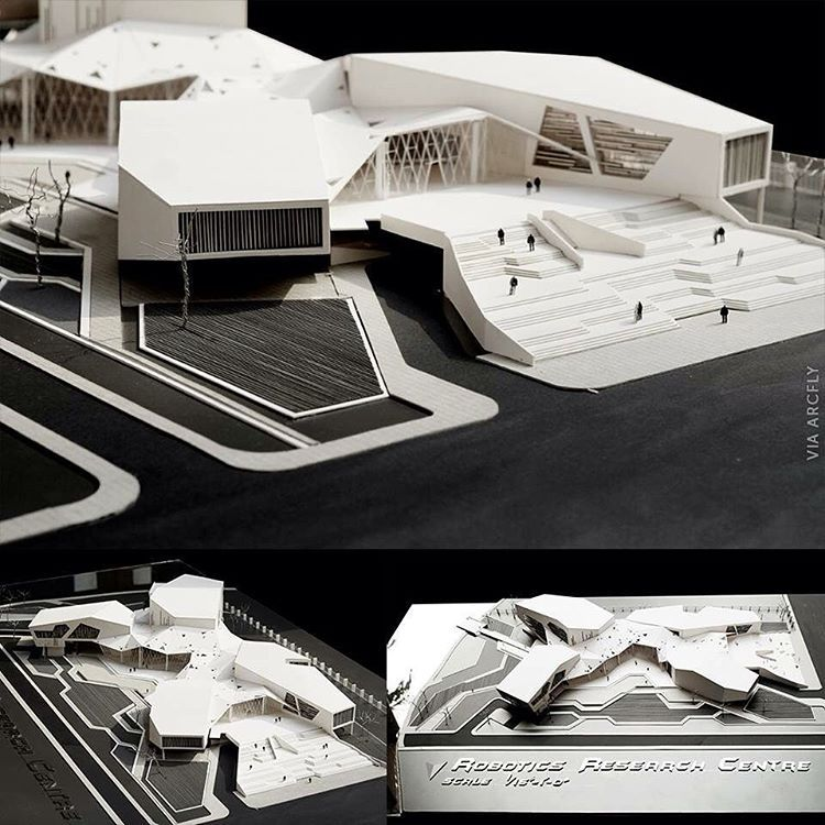 Robotics research center via arcfly ft arch impressive for Via design architects