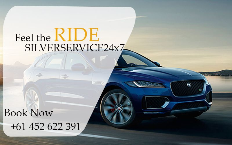 Feel the difference between #Silver #Service24x7 #taxi and other taxi #providers. #Book now just us at +61 452 622 391