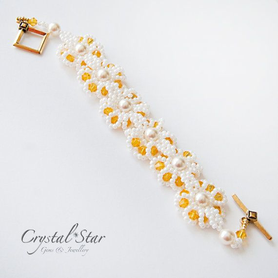 Daisy Chain Tutorial by Crystalstargems on Etsy