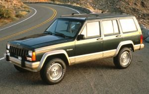 1993 Jeep Cherokee Country What S It Worth Jeep Cherokee Xj