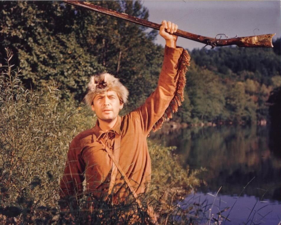Image result for davy crockett fess parker