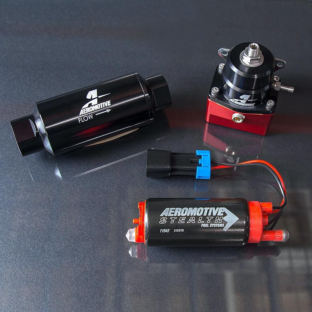 Treat Yourself To These Great Products By Aeromotive Items Pictured Here Include Fuel Filter E85 Fuel Pump And A Fuel Pressure Regulator Ava Fuel Instagram