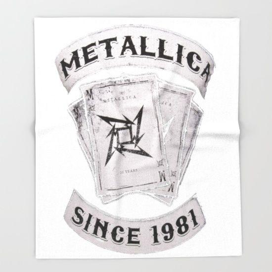 Metallica Throw Blanket For Birthday Gift Metallica Throw Blanket Amazing Metallica Throw Blanket