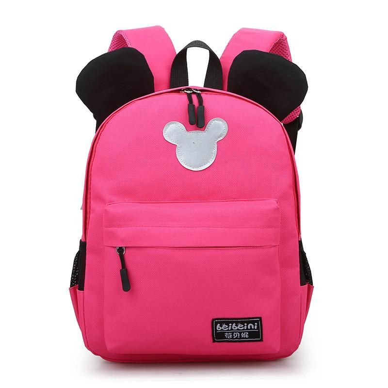 New Arrival 2018 Fashion Cute Kids School Bags Anti-lost Backpack Baby Toddler  Bag Kindergarten 2189b2081ce96
