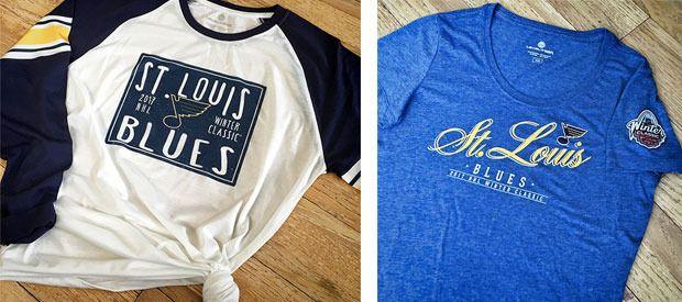 Winter Classic Merchandise - St Louis Blues - Fan Zone