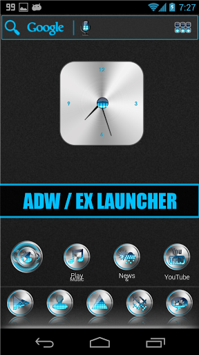 siri Cyan Multi Theme v1.2 Requirements Android 2.2 and