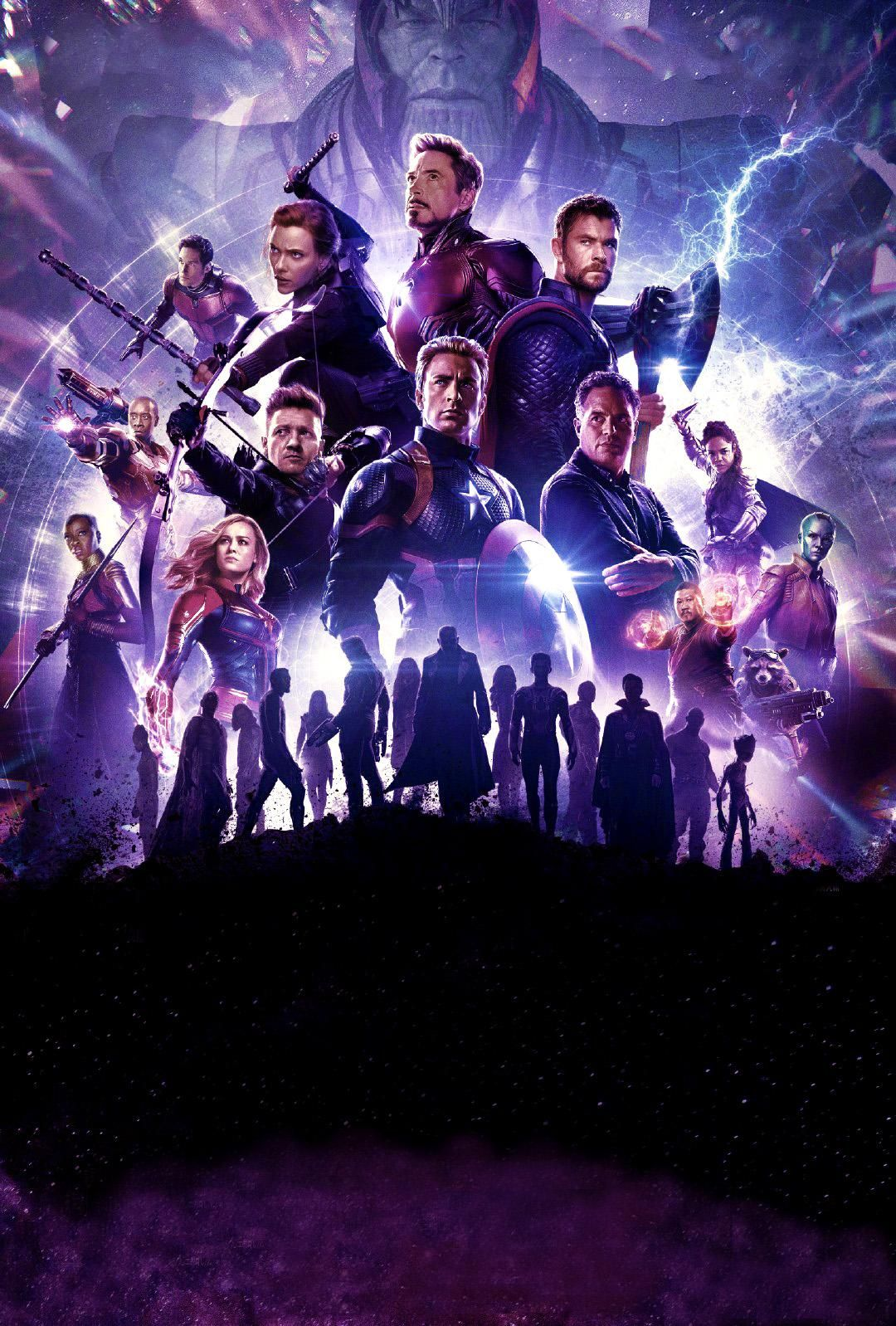 Textless Poster With Purple Color Scheme Due To Popular Request Marvel Posters Avengers Poster Marvel Superheroes