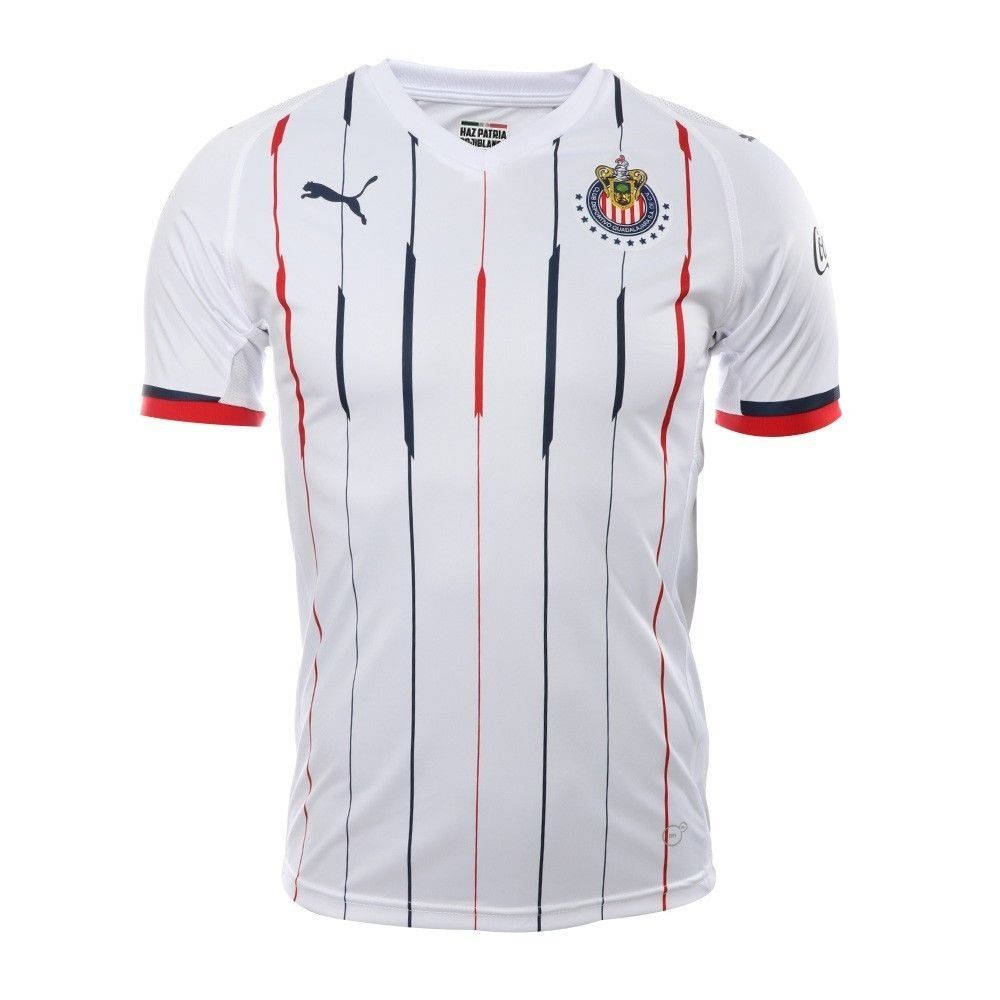 huge selection of de618 24943 FAN SHIRT Chivas Puma Away Jersey 2018/2019 | soccer world ...