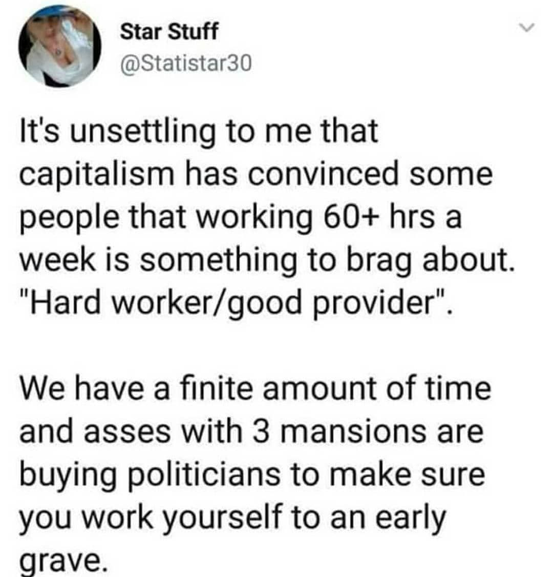 the american work ethic
