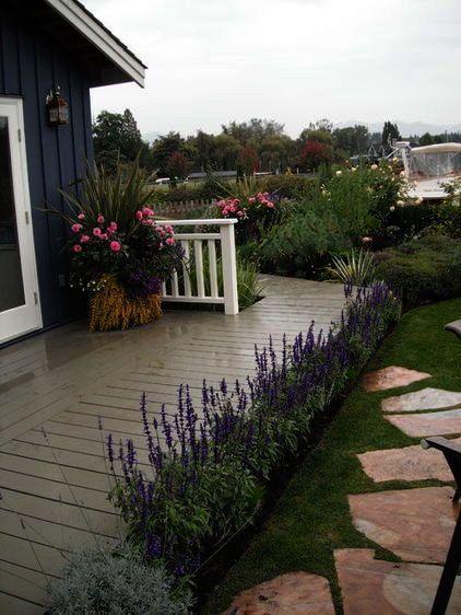Landscape Gardening Rugby little Cottage Courtyard Garden ...