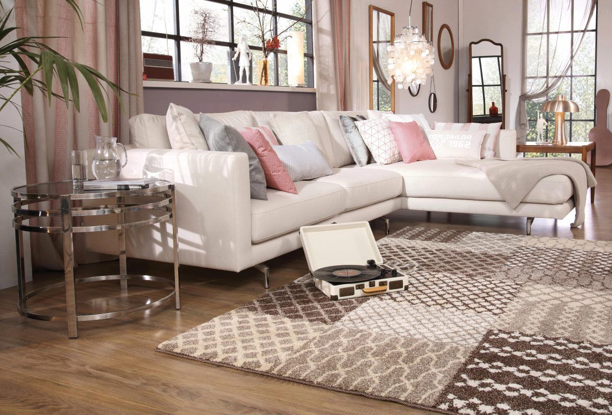 tom tailor ecksofa beige recamiere links club style jetzt bestellen unter https moebel. Black Bedroom Furniture Sets. Home Design Ideas