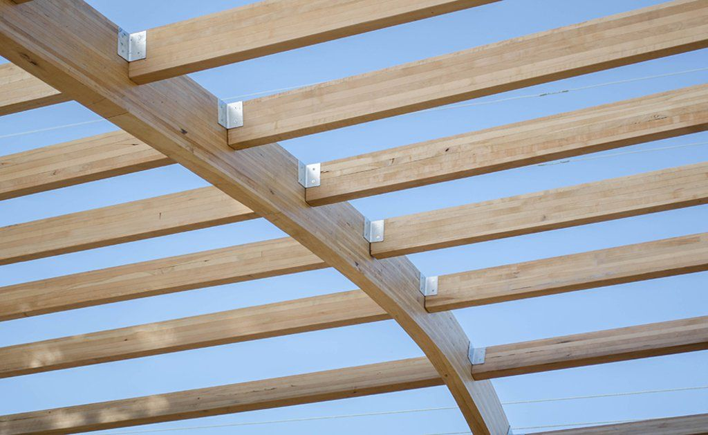 Ignisterra s high resistant laminated lenga beams are