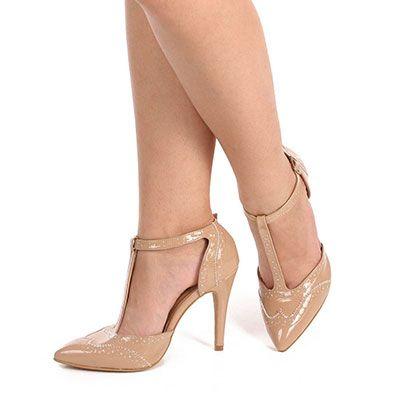 1054f9af7c Sapato Scarpin Feminino Lara - Nude