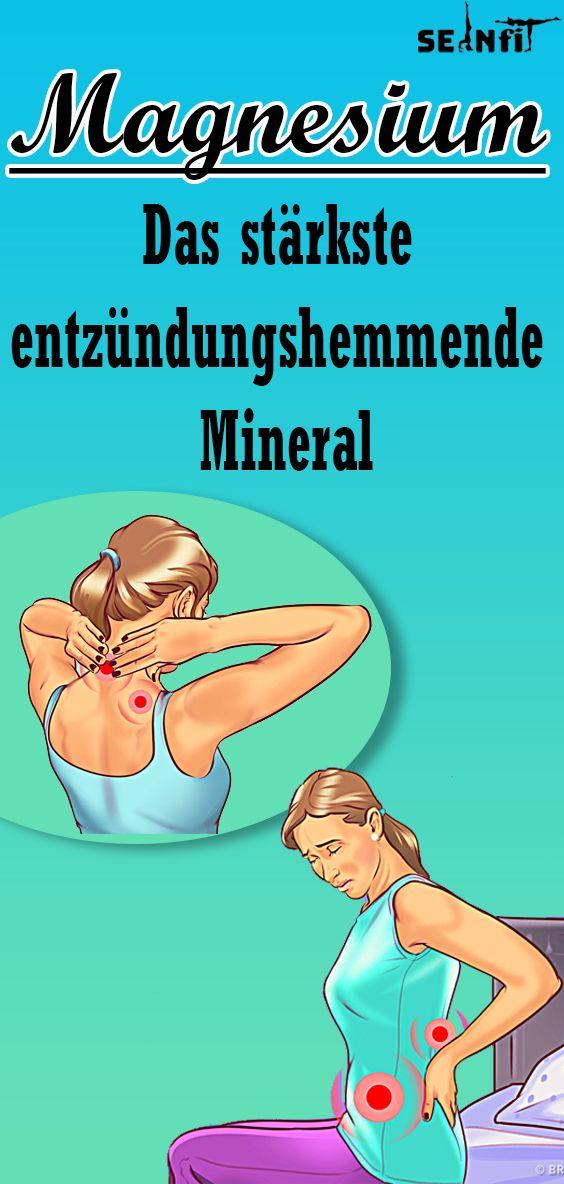 Warum Magnesium das stärkste entzündungshemmende Mineral ist das der Mensch kennt Warum Magnesium das stärkste entzündungshemmende Mineral ist das der...