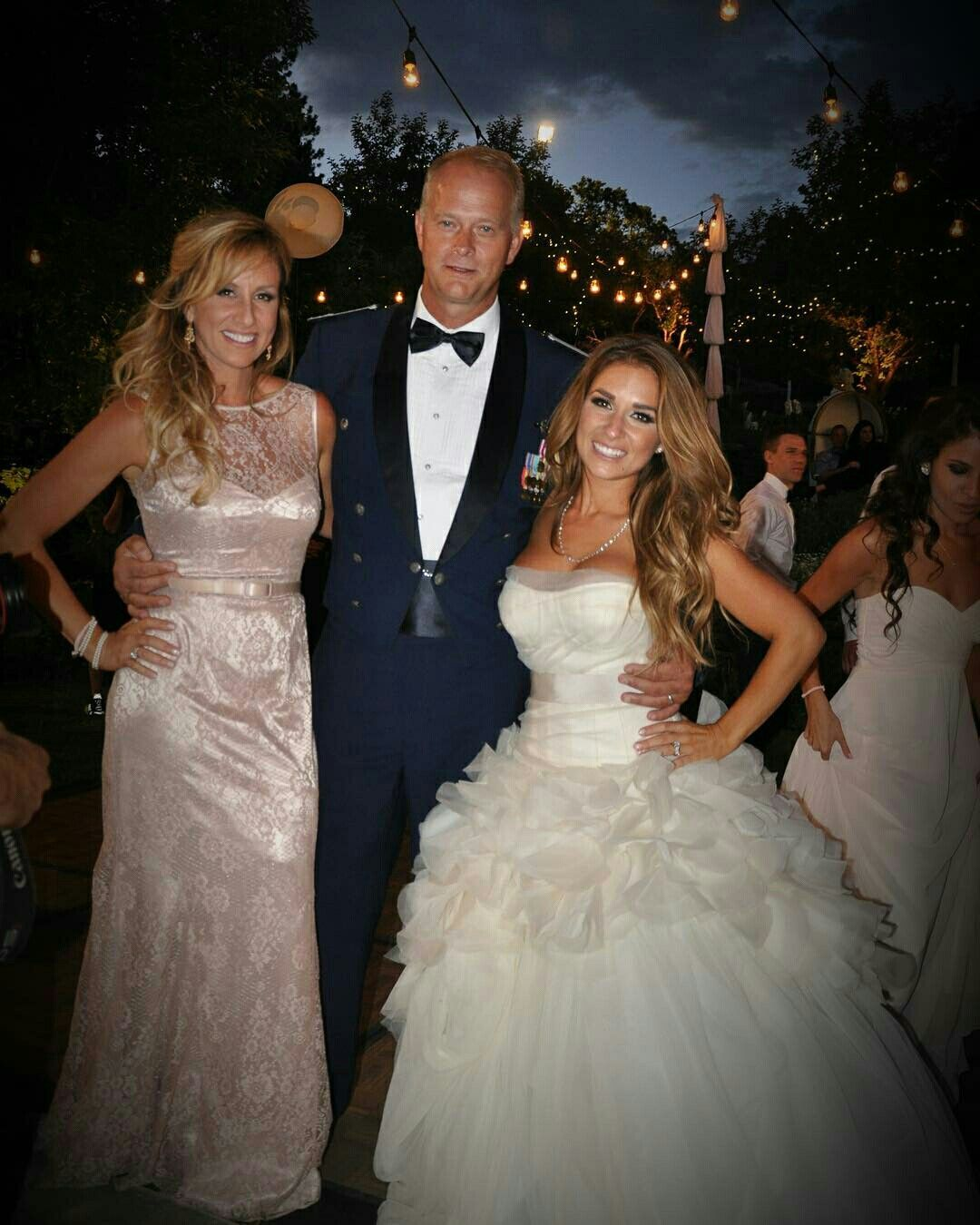 Wedding Gown For Parents: Jessie And Her Parents #tbt