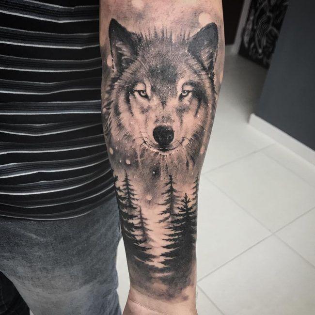 75 Awesome Wolf Tattoo Designs: 95+ Awesome Tribal Einsamer Wolf Tattoo Designs