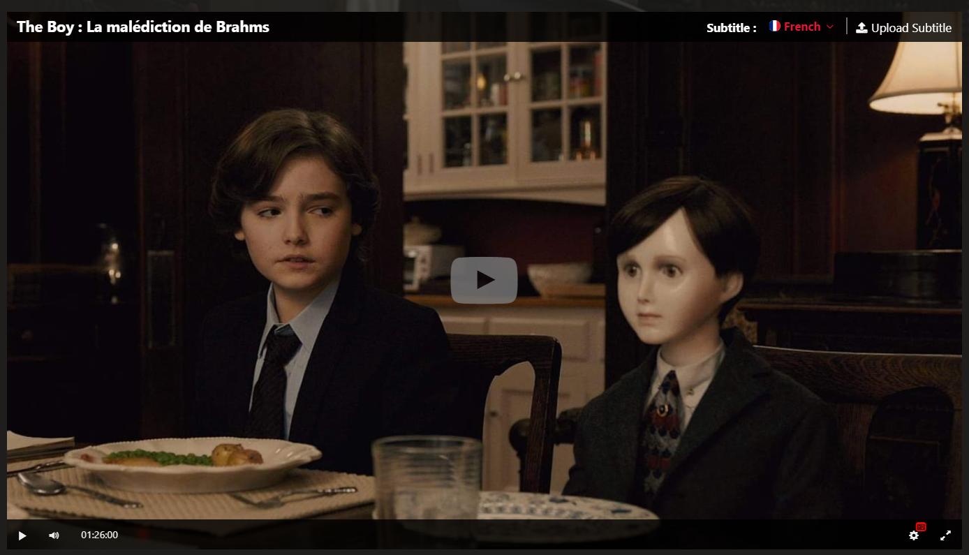 Hd The Boy La Malediction De Brahms 2020 Film Complet En Francais Selebritas Film Kartun