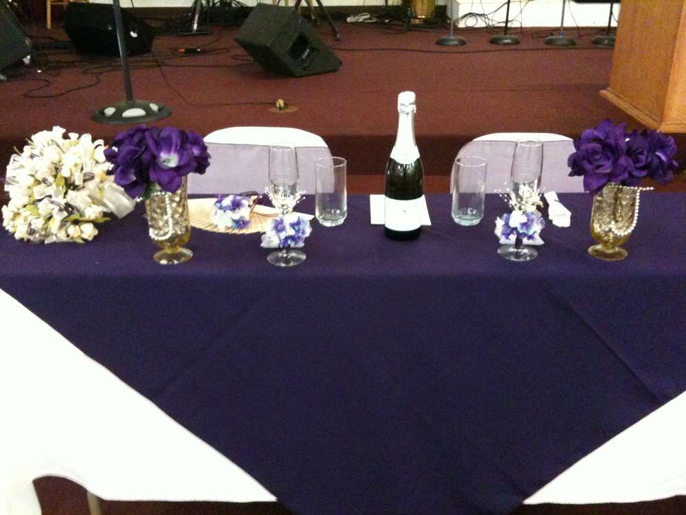 Purple Pastors Appreciation Party Ideas | The Rock ...