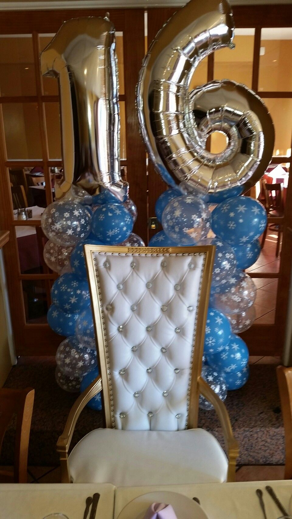 White and Gold chair rental Gold chair, Chair, Home decor