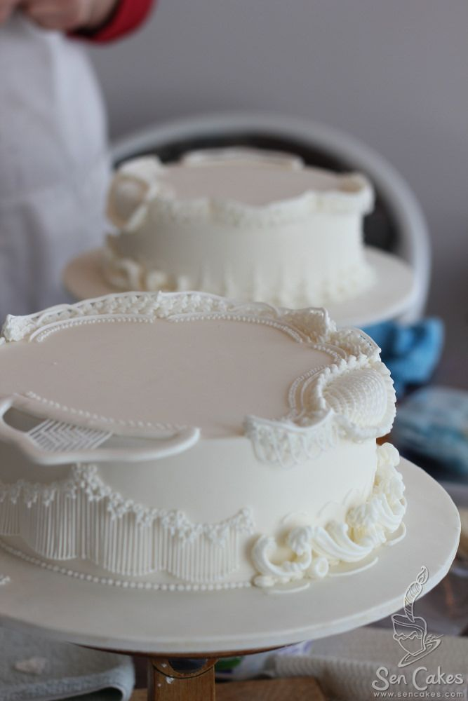 Royal Icing Practice Cakes Pinterest Decoration Gateau Cake