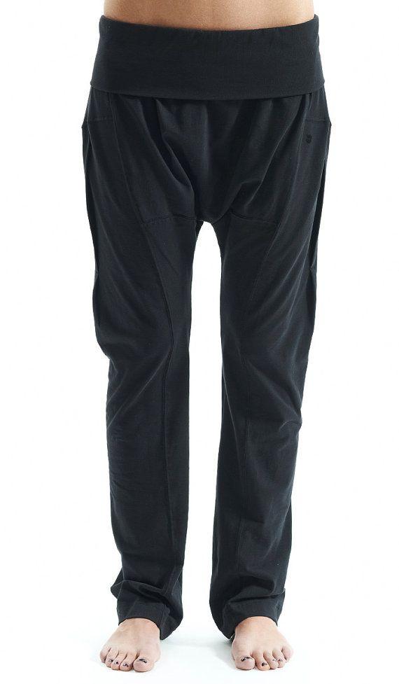 1ef3d1b68f Arya Yoga Black Harem Yoga Pants Drop Crotch Pants by AryaStyles, $69.00  These look super comfy!