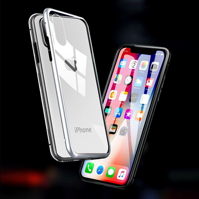 Adsorption phone cases for iphone xs max x s r xr