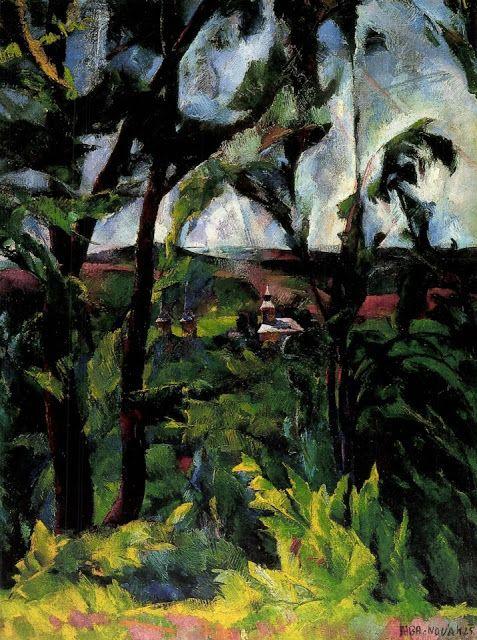 Mia Feigelson's FB Gallery - Artists I admire: Vilmos Aba-Novák, from Hungary (1894 - 1941)   Mia...