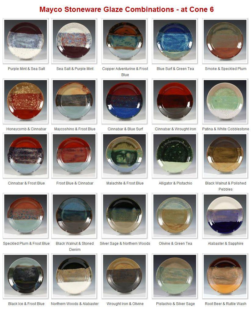 Q-Mayco Stoneware Non-Toxic Glazes  - Cone 6 to Cone 10
