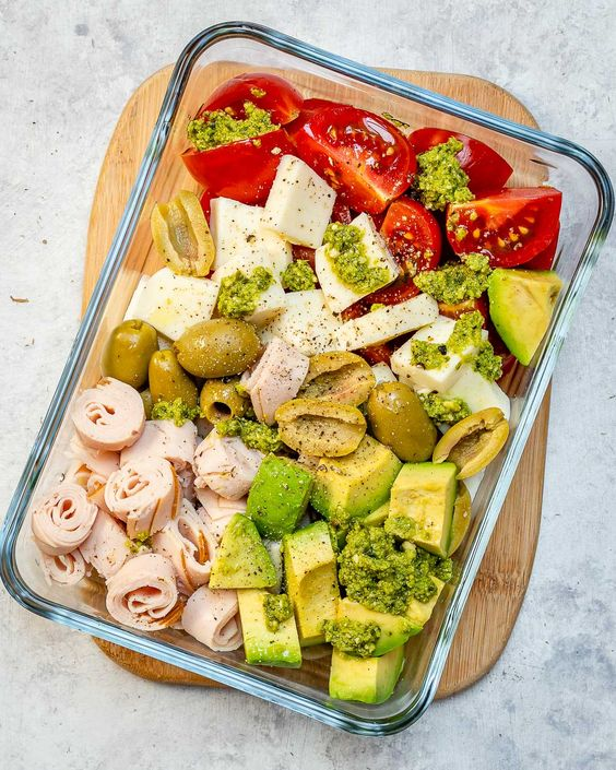 No-Cook Cold Lunch Boxes 4 Ways for Clean Eating #healthyeating