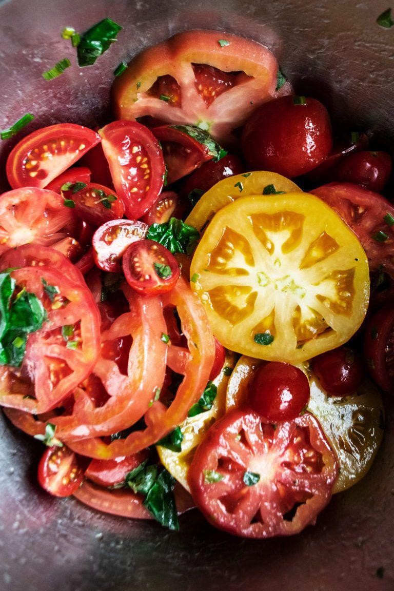Herb Marinated Tomato Panzanella   The Original Dish   Recipe in ...
