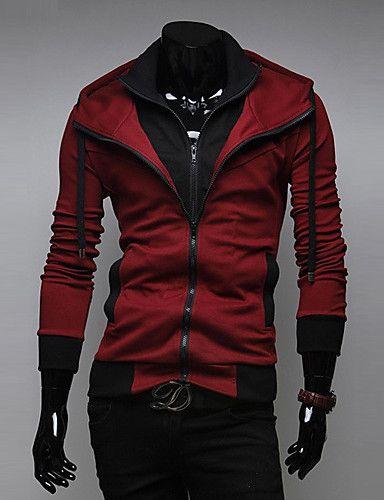 539ef4ec7857 Men's Long Sleeve Hoodie & Sweatshirt , Cotton Blend / Polyester Pure  4465727 2016 – $8.54