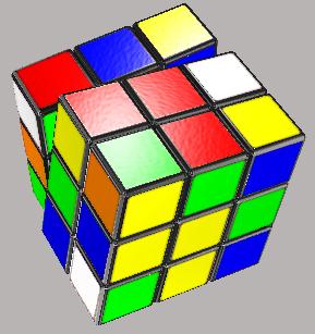 Retro Puzzle Cube Pin Badge 1980s 80/'s style Brand New