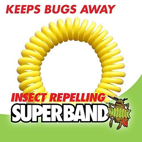 NEW 2016  Insect Repelling SUPERBAND  Green Packaging  ALL NATURAL 50 by Superband * You can get additional details at the image link.