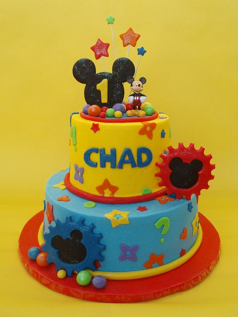 Mickey Mouse Clubhouse Birthday Cake Party Ideas For Nolans First