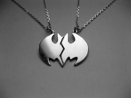 Batman friendship necklace