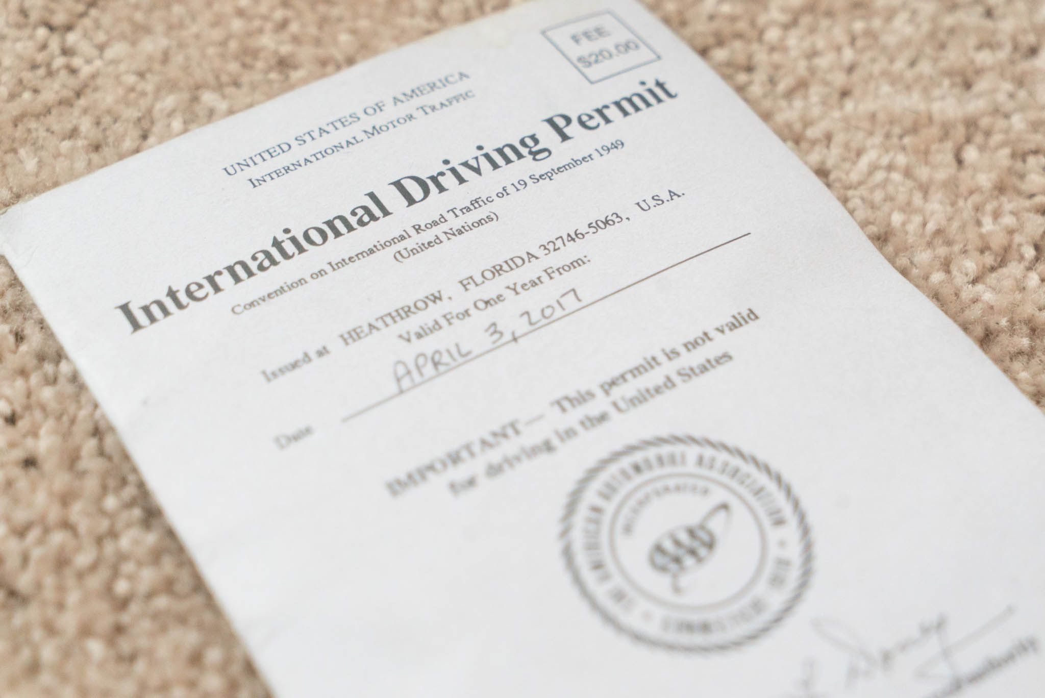 what do you need to get a driving permit
