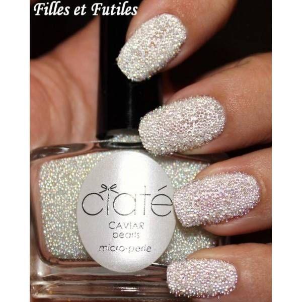 Ciate Caviar Nails: Ciate Nail Polish, Pearl Nails