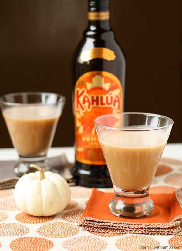 Kahlúa Pumpkin Scotchie cocktail recipe