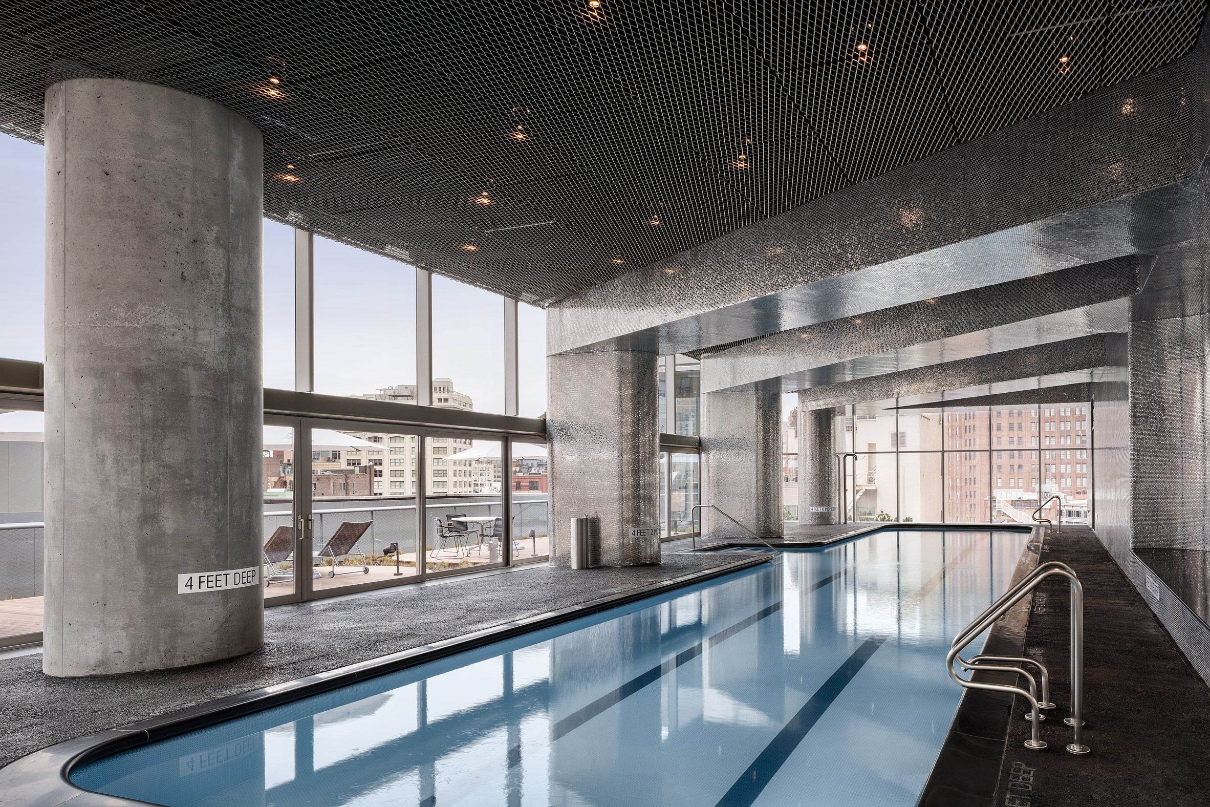 Herzog De Meuron S Interiors For 56 Leonard Jenga Tower