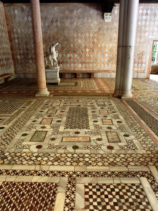 Beautiful Floors In Ca D Oro In Venice In 2020 Venice Mosaic Flooring Mozaic