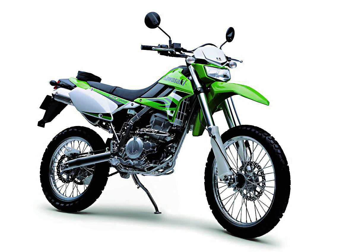Kawasaki KLX 250. for offroad, I choose this one