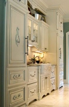"Photo of ""french Country Kitchen"" Design Ideas, Pictures, Remodel, and Decor – page 60"