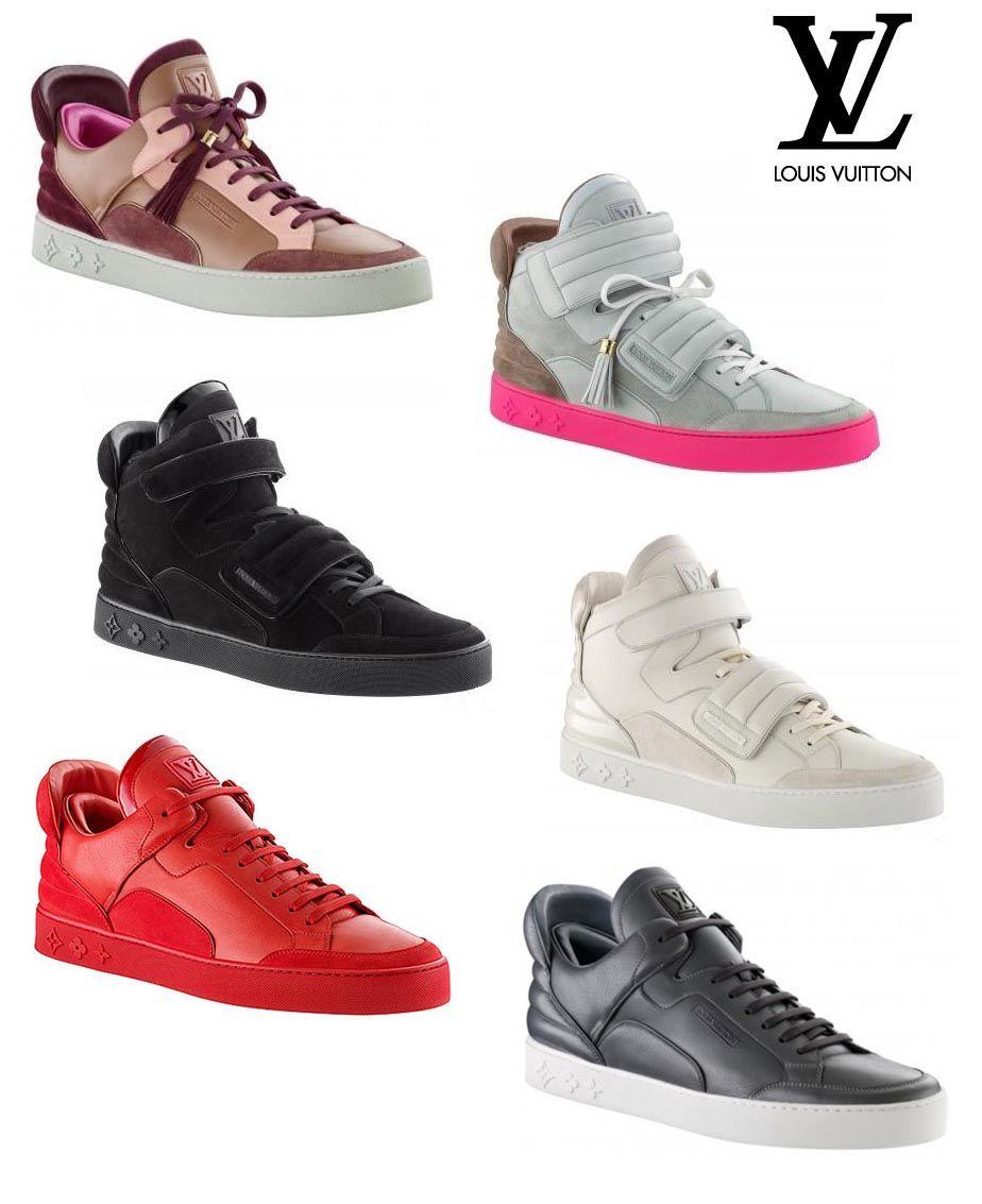Kanye West Louis Vuitton Zapatillas Casual Hombre Zapatillas Casual Zapatos De Marca