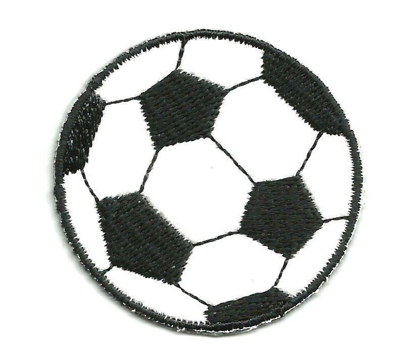 """3//4/"""" Soccer Ball Football Sport Embroidery Patch"""