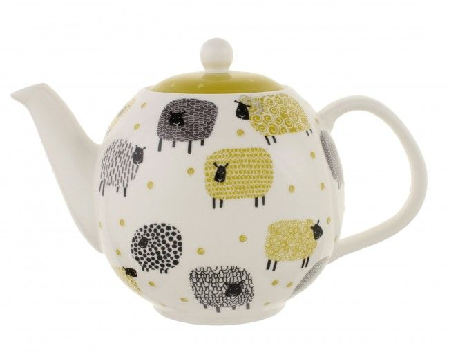 134d7b5d1 Dotty Sheep Teapot by Ulster Weavers