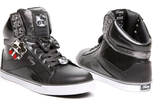 I am completely loving these Hello Kitty hi-tops!