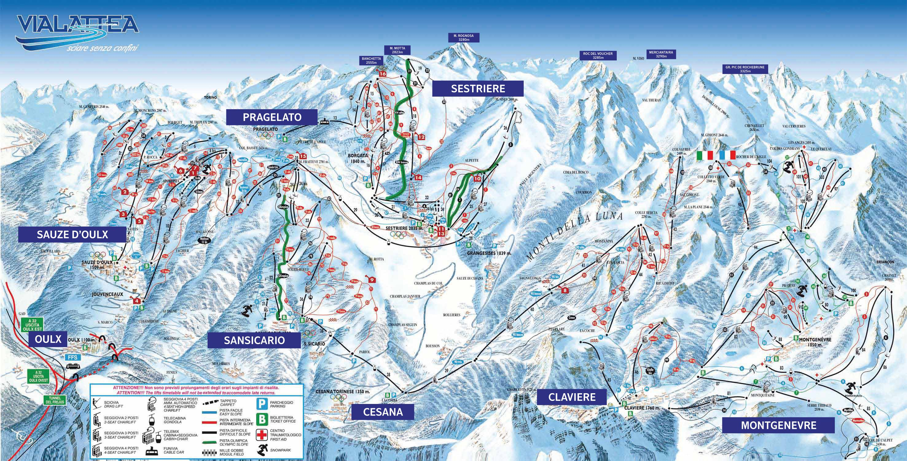 13032016 Italy Sauze DOulx Neilson Edelweiss Vialattea Ski