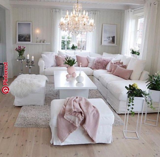 Wohnzimmer Dekor Dekor Landhausstil Wohnzimmer Romantisches Wohnzimmer Wohnzimmer Ideen Wohnung Wohnen