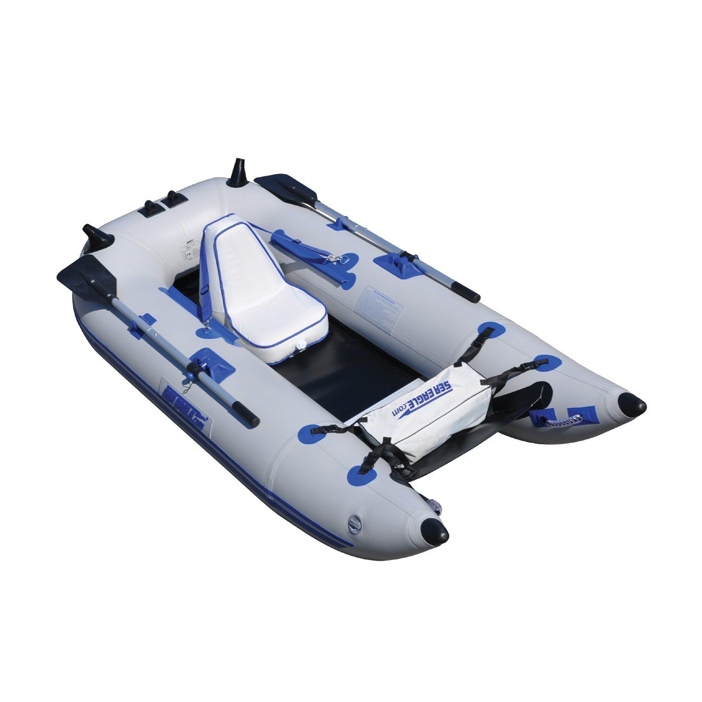 Inflatable pontoon boat boat pinterest inflatable for Inflatable fishing pontoon